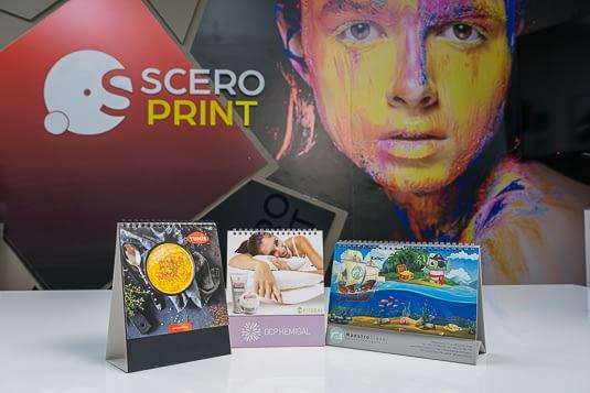 Kalendari iz stamparije Sceroprint